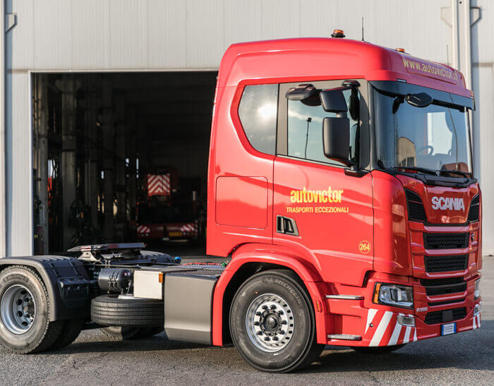 nuovo camion Scania R500